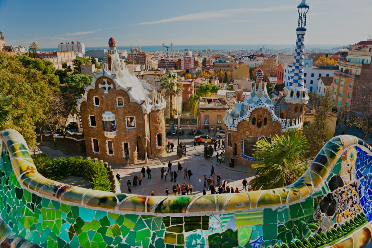 Barcelona from