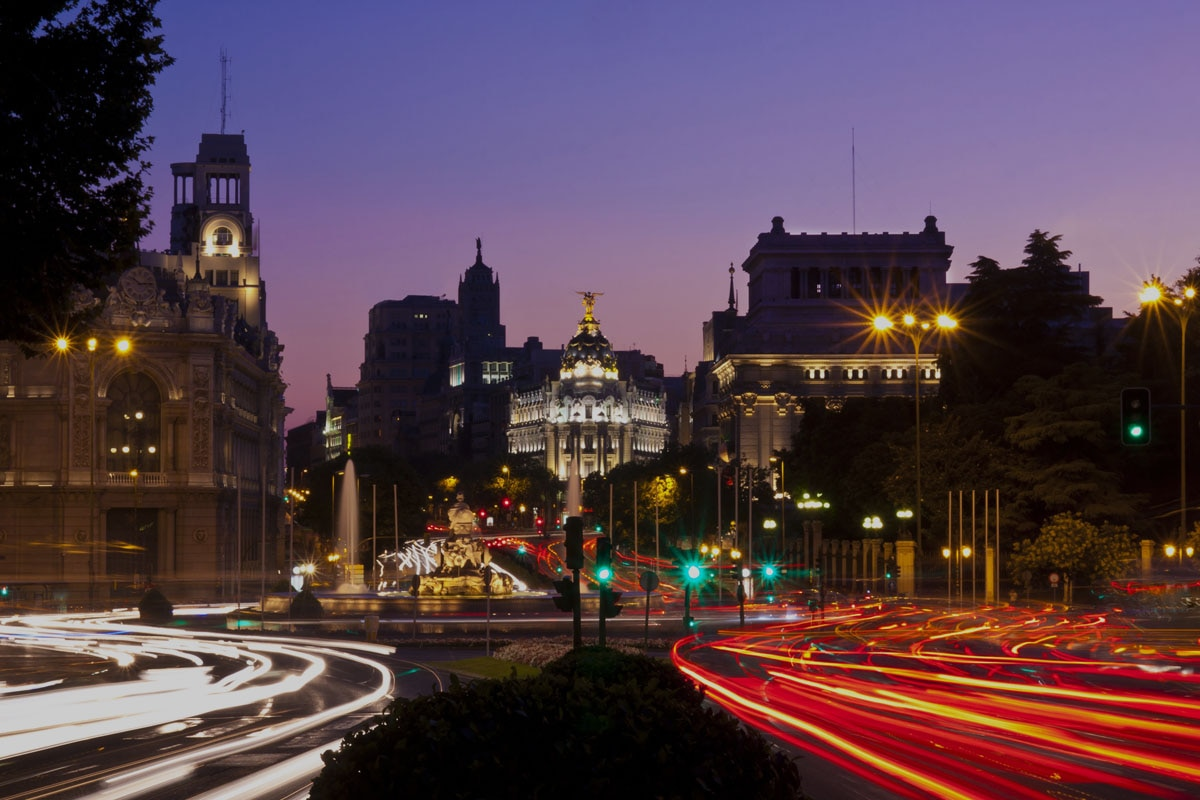 Madrid from