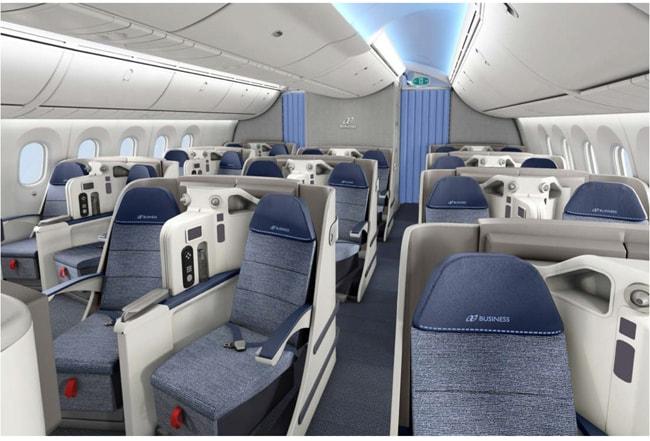 1010e0f5e9 Clube business - Air Europa