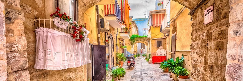 Finden Sie die besten Flugangebote nach Bari (BRI)