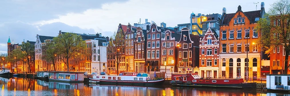 Search Marrakech to Amsterdam (RAK - AMS) Flight Deals