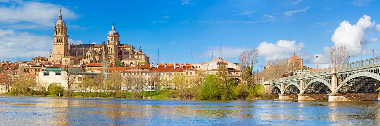 Encontre passagens promocionais partindo de Salamanca (SLM)